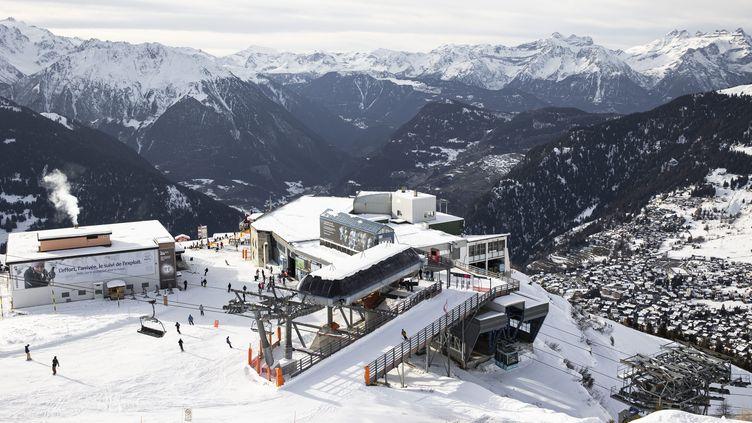 L'accident a eu lieu près de la station de Courchevel en Savoie. (ALEXIS SCIARD / MAXPPP)