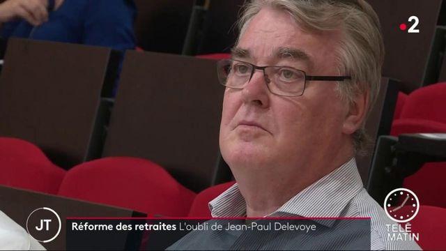 L'oubli embarrassant de Jean-Paul Delevoye sur sa déclaration d'intérêt