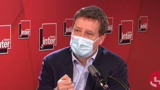 Yannick Jadot, député européen écologiste, surFrance Inter le 14 janvier 2021. (FRANCEINTER / RADIOFRANCE)