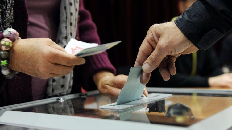 Le droit de vote aux élections locales pour les étrangers non-communautaires résidant en France depuis cinq ans fait partie des 60 engagements du programme de François Hollande. (MIGUEL MEDINA / AFP)