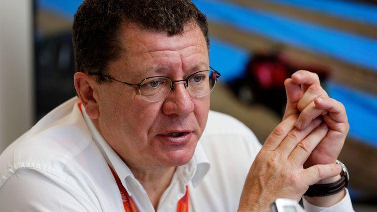 Jacques Bolle, réelu pour un troisième mandat à la tête de la fédération française de motocyclisme. (DOMINIQUE LERICHE / MAXPPP)