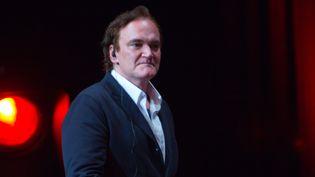 Quentin Tarantino en octobre 2016 au festival Lumière, à Lyon  (Jean-François Lixon)