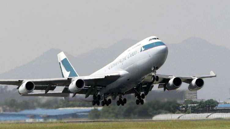 Un Boeing 747 de la compagnie Cathay Pacific. (MAXPPP)