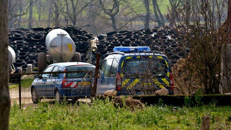 (L'exploitation agricole de Mayran en Aveyron, où la conseillère de la chambre d'agriculture est décédée mercredi © maxppp)