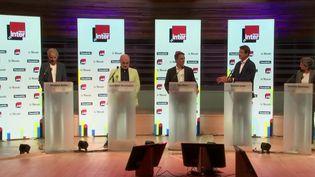 Primaire écologiste : cinq candidats pour une place de candidat à la présidentielle (Capture d'écran France 2)
