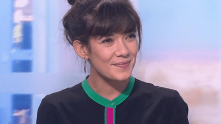 Mélanie Doutey est l'invitée du 13h. (France 2)