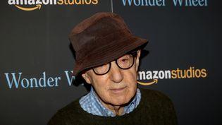 """Le réalisateur Woody Allen, lors d'une projection de """"Wonder Wheel' à New York, le 14 novembre 2017. (BRENDAN MCDERMID / REUTERS)"""