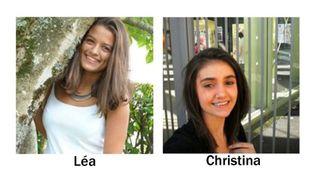 Léa (g) et Christina (d), disparues depuis samedi 11 mars vers 17h entre Chéraute (64) et Pau (64). (GENDARMERIE NATIONALE)