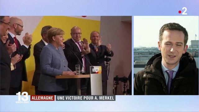 Allemagne : une victoire pour Angela Merkel ?