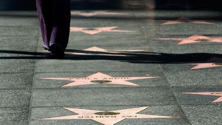 """Walk of fame"" (Boulevard de la Gloire), Hollywood Boulevard, Los Angeles  (Mitch Diamond / AFP)"