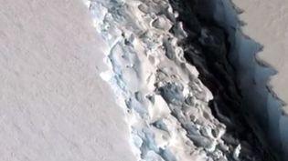 faille antarctique iceberg (France 3)