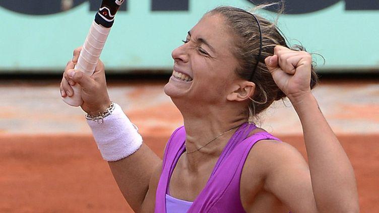 Sara Errani, en pleine réussite, qualifiée pour la finale