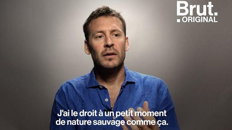 VIDEO. 28 jours dans les profondeurs de la Méditerranée, Laurent Ballesta raconte (BRUT)
