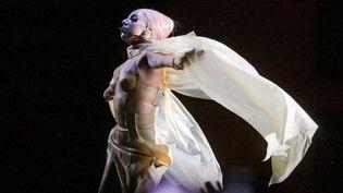 Lady Gaga sur la scène du Stadium Olympique de Moscou (12/12/2012)  (Anna Salynskaya / Ria Novosti / AFP)