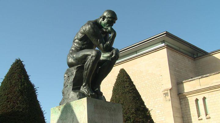 Le Penseur au jardin des sculptures du Musée Rodin (France Télévisions / M. Huguet)