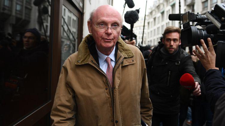 L'ancien directeur de campagne de François Fillon,Patrick Stefanini, le 6 mars 2017, à Paris. (GABRIEL BOUYS / AFP)