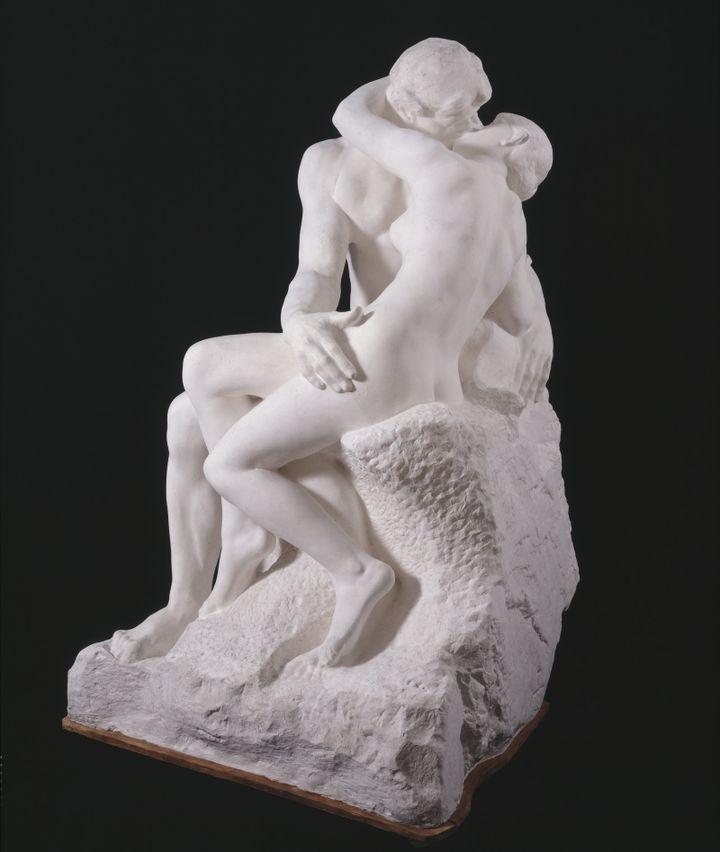Auguste Rodin, Le Baiser, grand modèle, 1888-1898.  (Musée Rodin, Paris (photo : Adam Rzepka))