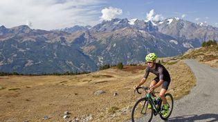 Le Col Du Granon, emprunté une seule fois en 1986, sera au programme du Tour de France 2022. (THIBAUT DURAND / HANS LUCAS)