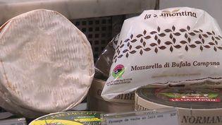 La mozzarella italienne pourrait détrôner le camembert,qui est pourtant l'un des fleurons de notre gastronomie. (CAPTURE ECRAN FRANCE 2)