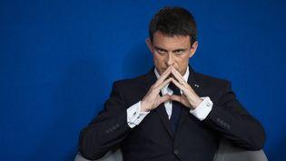Le Premier ministre Manuel Valls, à Paris, le 15 juin 2015. (MARTIN BUREAU / AFP)