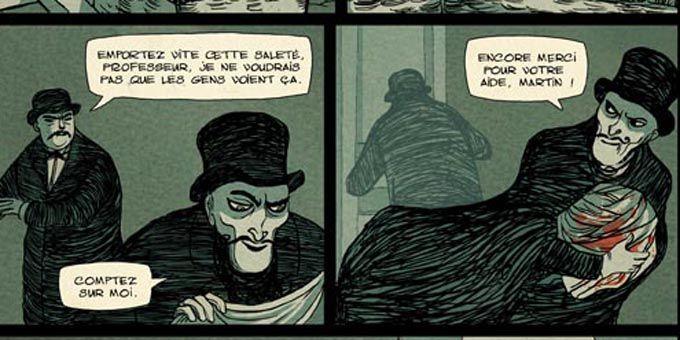 La Chambre de Lautréamont  (Ed.Futuropolis)