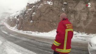 Bouches-du-Rhône : la neige invitée surprise (FRANCE 2)