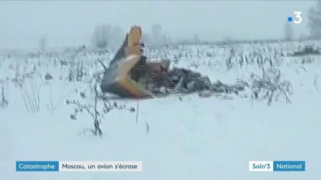 Russie : un crash près de Moscou fait 71 morts