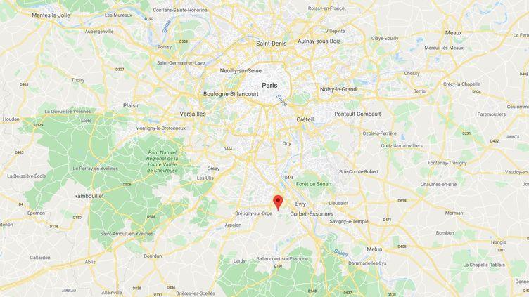 Les faits se sont déroulés à Bondoufle, dans l'Essonne. (GOOGLE MAPS)