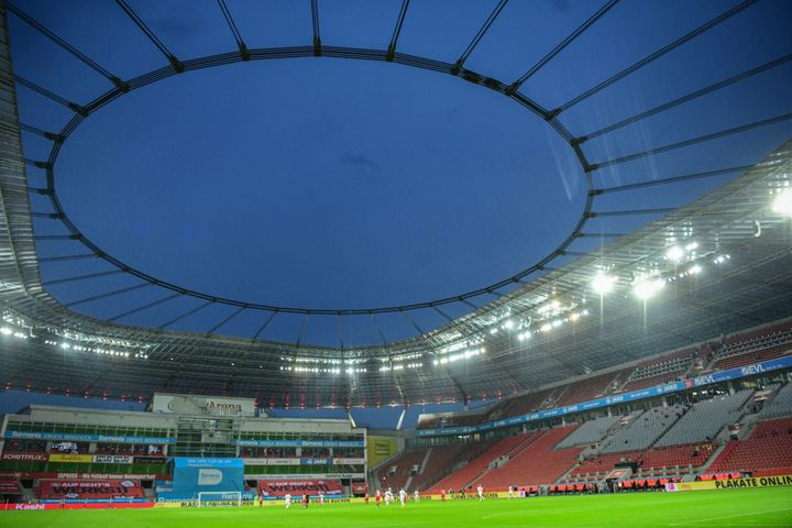 Stadion Köln, stade dans lequel se déroulera la finale de la Ligue Europa 2020 (INA FASSBENDER / AFP)