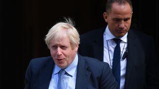Boris Johnson, le Premier ministre britannique, le 4 septembre 2019 à Londres (Royaume-Uni). (DANIEL LEAL-OLIVAS / AFP)