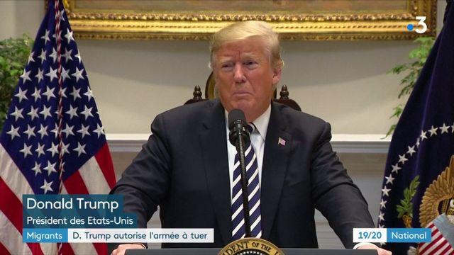 États-Unis : Donald Trump déploie des militaires pour lutter contre l'arrivée de migrants