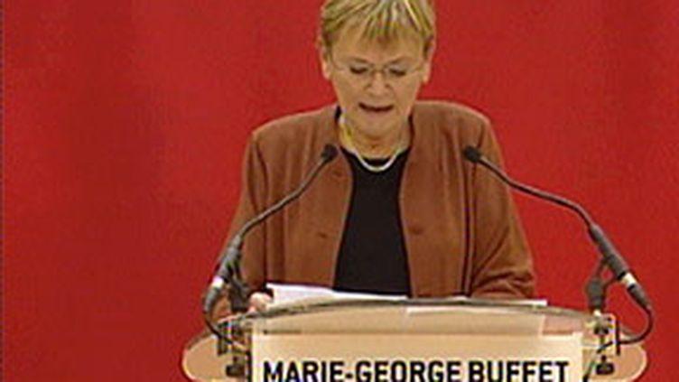 Marie-George Buffet, secrétaire nationale du PCF. (© France3)