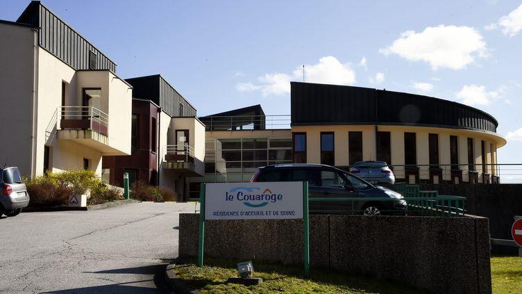 """L'Ehpad""""Le Couarôge"""" àCornimont, dans les Vosges, le 13 mars 2020. (MAXPPP)"""