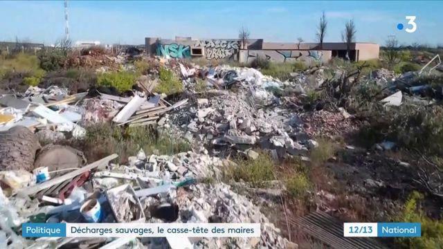 Décharges sauvages : les maires demandent à l'État d'agir