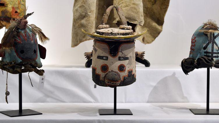 Masques Hopi  (ARNAUD GUILLAUME / AFP)