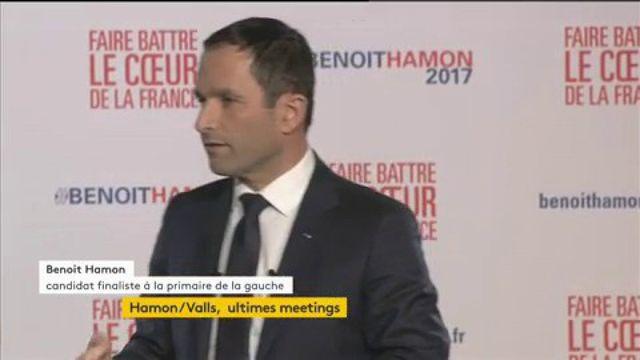 """Primaire de la gauche : """"Je suis fier qu'on m'appelle Bilal"""", déclare Benoît Hamon"""