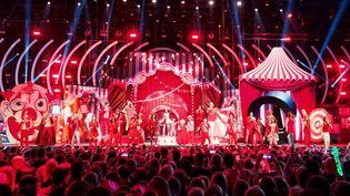 L'un des concerts des Enfoirés à Strasbourg, janvier 2018  (Capture d'écran instagram des Enfoirés Officiel)