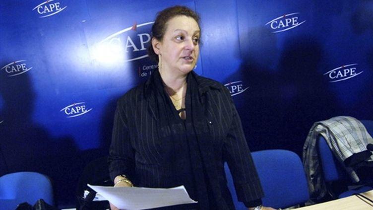 Alima Boumediene-Thiery le 10 novembre 2005 à Paris (AFP/STEPHANE DE SAKUTIN)