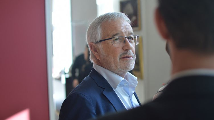 Le maire de Dijon François Rebsamen, en 2019 (VICTOR VASSEUR / FRANCE-BLEU BOURGOGNE)