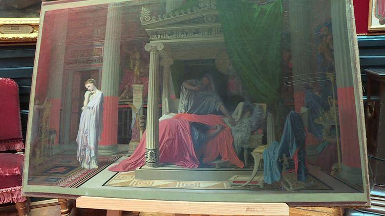 La Maladie d'Antiochus, peinture de Jean-Auguste-Dominique Ingres (1840) (N. Ben Ghezala / France Télévisions)
