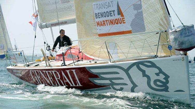 Nicolas Lunven sur Generali (FRED TANNEAU / AFP)