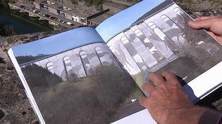 Jura : un artiste allemand fait de l'art en nettoyant un barrage (France 3)