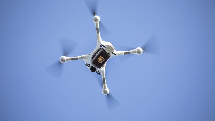 Un drone UPS effectue une livraison. (AFP PHOTO / UPS)