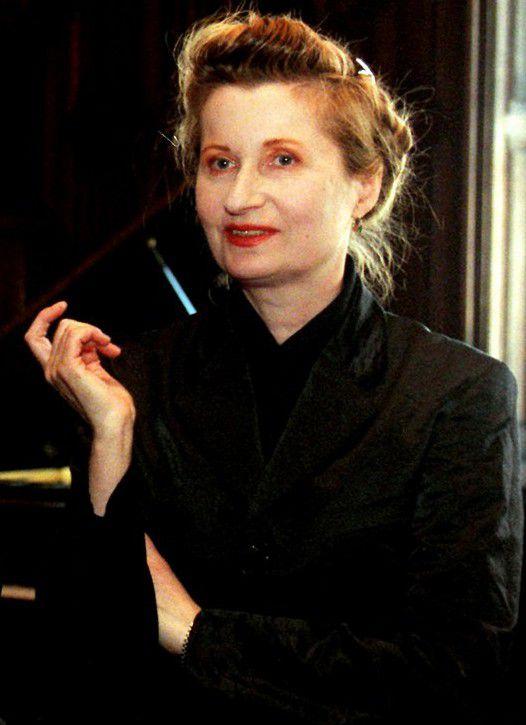 Elfriede Jelinek, Prix Nobel de littérature en 2004  (HERBERT PFARRHOFER / AFP)