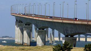 Le pont de l'île de Ré, en août 2018. (PHILIPPE ROY / AFP)