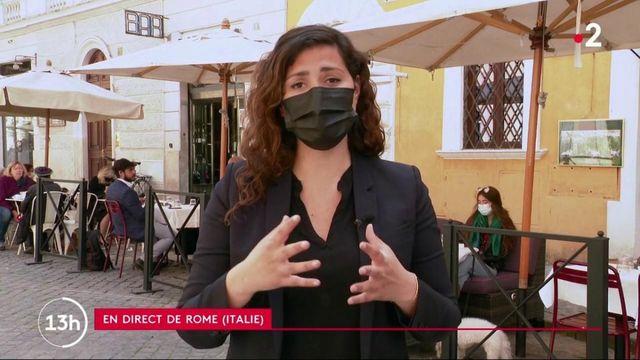 Italie : à Rome, début de déconfinement et réouverture des terrasses