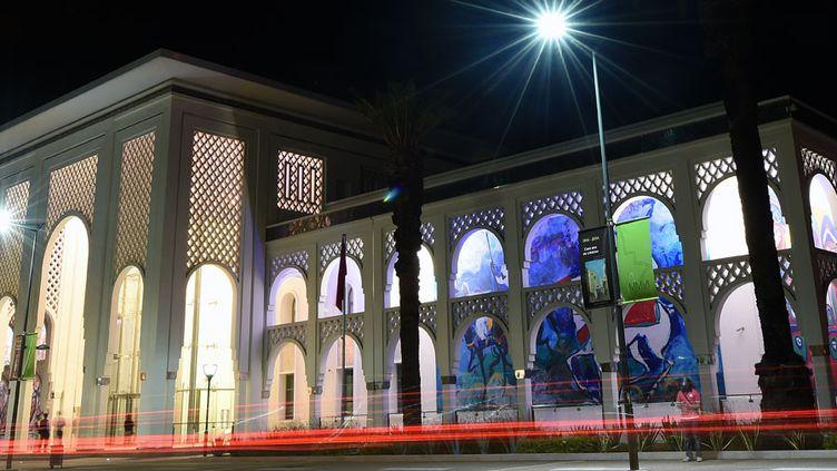 Le nouveau musée Mohammed VI d'art moderne et contemporain de Rabat, Maroc (8 octobre 2014)  (Fadel Senna / AFP)