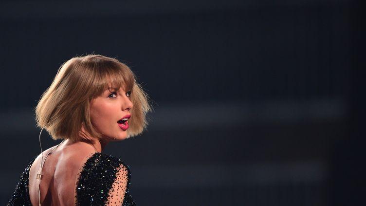 La chanteuse Taylor Swift, le 11 juillet 2016, à Los Angeles (Etats-Unis). (ROBYN BECK / AFP)