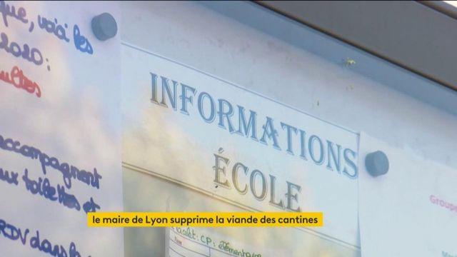 Lyon : un menu unique sans viande dans les écoles, vive opposition de l'exécutif