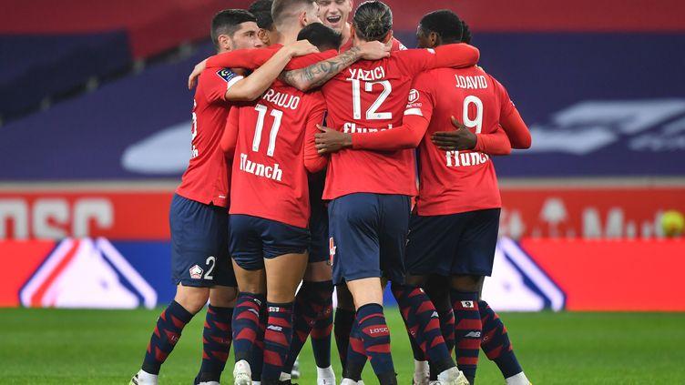 Les Lillois ont retrouvé la victoire après trois matches sans succès (DENIS CHARLET / AFP)